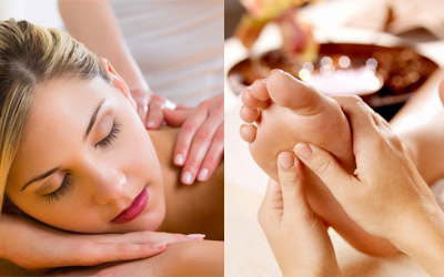 Rücken- und Fußmassage Gießen