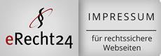 erecht24 rechtssicheres Impressum